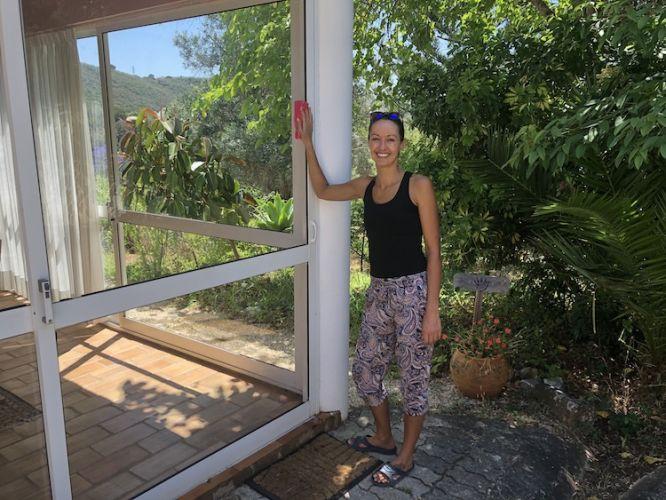 Debby at Moinhos Velhos juice fasting retreat