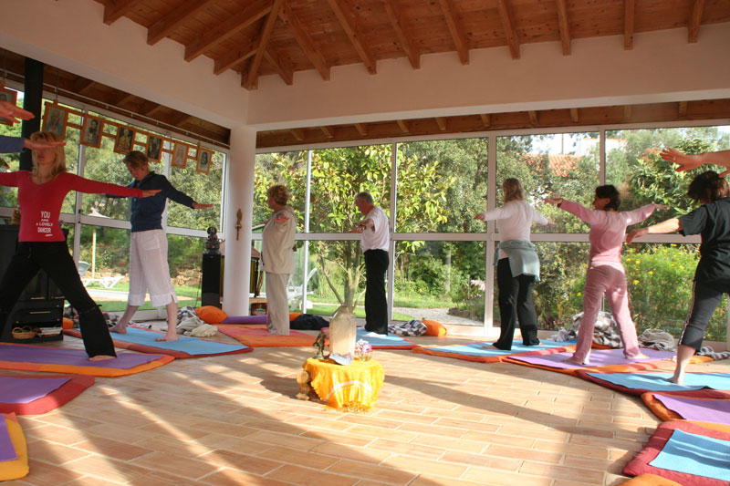 yoga detox in temple